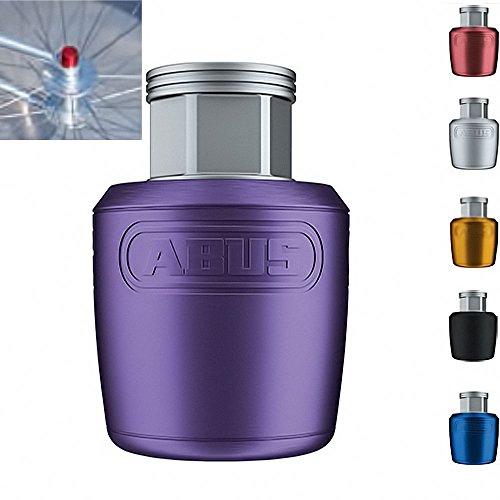 Abus Unisex– Erwachsene NutFix M10 Komponentensicherung, violett, Durchmesser: 26,50 mm