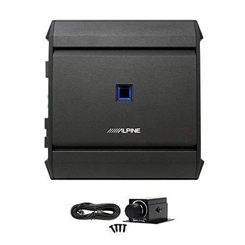 Alpine S-A60M S-Series Class D Mono Amplifier Bundled w/RUX-KNOB.2 Remote Bass Level Control