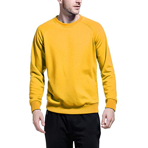 Mens Yellow Sweater Fashion