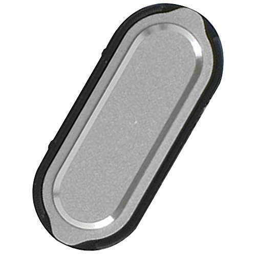 Unbekannt Original Samsung Home Button Silver/Silber für Samsung A300F Galaxy A3 (Home Key, Taste) - GH98-34721C