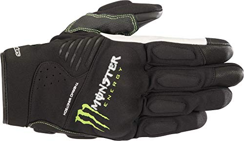 guanti monster Alpinestars Guanti da moto Force Gloves nero/verde