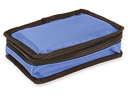 Mini Diabetic Bag Vuoto, Nylon, Blu