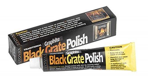 Stovax Black Grate Woodburner Graphite Fire Polish Zebo
