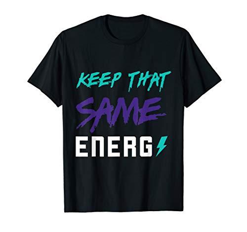 Keep the same energy made to match Jordan 5 alternate grape T-Shirt