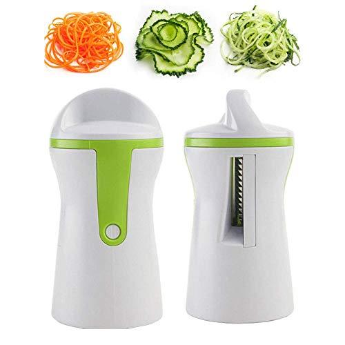 Vektenxi Gemüsespiralizer-Spiral-Slicer-Spiraliser-Schneider-Zucchini-Nudel-Spaghetti-Nahrungsmittelzerhacker dauerhaft und nützlich