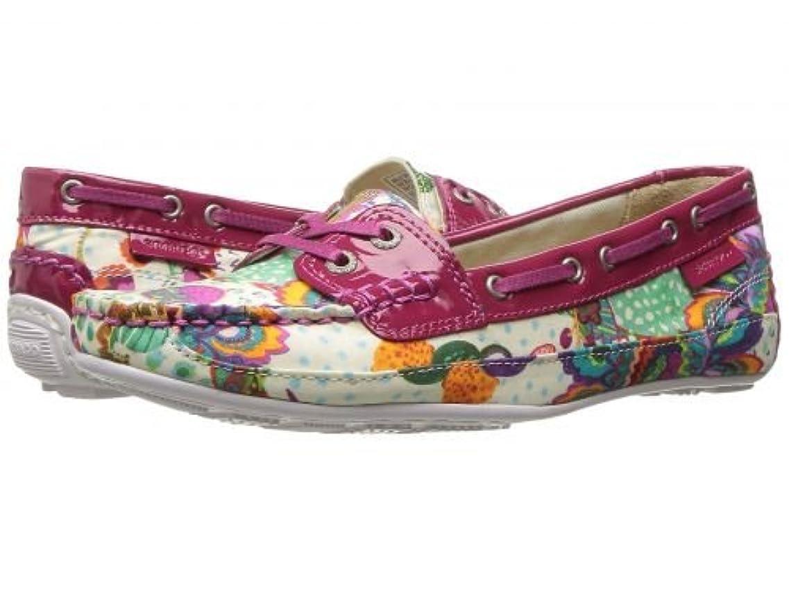 簡略化する確立します致命的Sebago(セバゴ) レディース 女性用 シューズ 靴 ボートシューズ Bala Liberty - Grand Bazzar Print/Dark Pink Patent [並行輸入品]