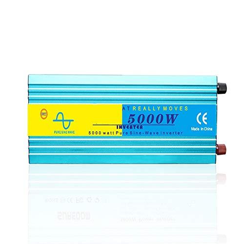 LIUXING-Home Inversor De Energia Puerto USB para inversor Convertidor de energía Laptop Pad Thonos Tablet Consolas con Enchufe Británico (Color : Blue, Size : One Size)