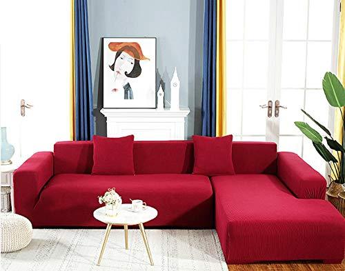 lxylllzs Sofa ÜBerwurf Stretch Sofabezug,Universelle Sofabezug, Stretch-Sofabezug aus Stoff-6_190 * 230 cm,Sofabezug FüR Sofa, Sofaschutz