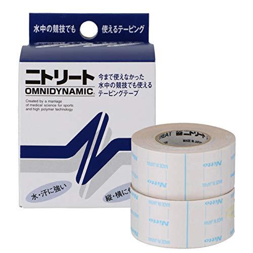 ニトリート(NITREAT) テーピング テープ 筋肉サポート用 防水 伸縮テープ オムニダイナミック OD25 25mm×5m(2巻入り)
