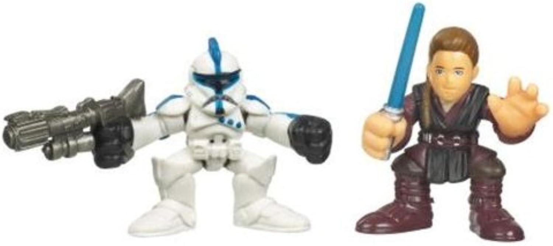 Star Wars Galactic Heroes Mini Figure 2Pack Anakin Skywalker And Clone Trooper