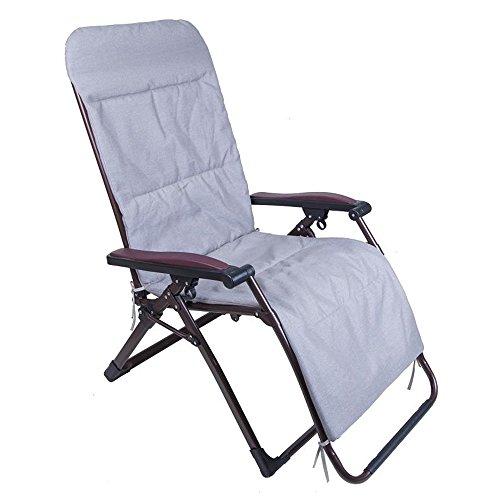 Chaises pliantes Xiaolin inclinable Chaise Longue de Bureau Chaise empilable Chaise vieillie Chaise de Balcon (Couleur : 06)