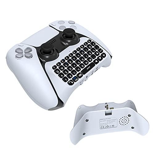 PERFECTHA Teclado Inalámbrico Bluetooth De PS5 Teclado Externo Bluetooth PS5 con Altavoz...