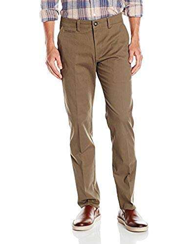 LEE Men's Super Soft Slim Fit Chino, Woodland, 30W x 30L