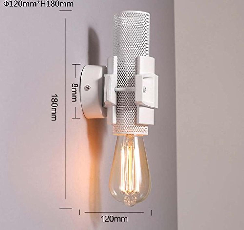 StiefelU LED Wandleuchte nach oben und unten Wandleuchten Leiter der Bed Single Wall Light Industrial Air retro Balkon Flur Hyun aus Strae, Wandleuchte, Wandleuchte
