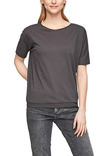 Q/S by s.Oliver Damen Jerseyshirt in O-Shape grey L