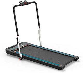 MAX STRENGTH 2 in 1 Folding Treadmill Under Desk Electric Treadmill Installation Free with Remote Control Bluetooth Speake...