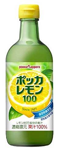 ポッカサッポロ ポッカレモン100 450ml