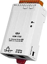 ICP DAS USA ICP-tGW-725 Compact Modbus TCP to Modbus RTU/ASCII gateway with PoE and 2 RS-485 Ports
