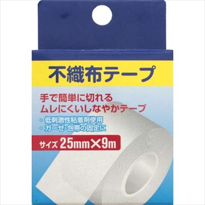 (株)奥田薬品 不織布テープ 25mm×9m