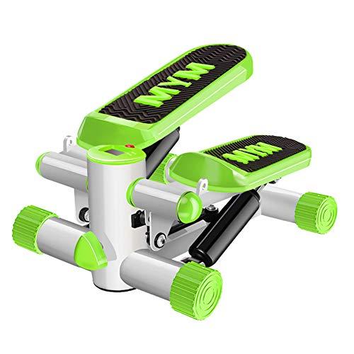 HJKHNK Mini-Stepper Swing Stepper für Zuhause Side-Stepper LCD Trainingscomputer Kalorienzähler Schrittzähler Timer Fitnessgerät Nutzergewicht bis 100kg