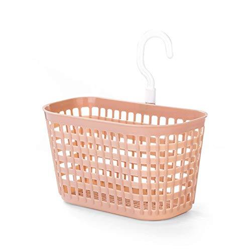 ukYukiko Wand-Hängekorb für Duschablage, Badezimmerregal, Waschraum, Küche, Aufbewahrungskorb