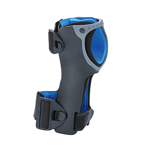 Lightweight low profile design 20%% less circumferential bulk than other brands Provides radial and ulnar styloid relief