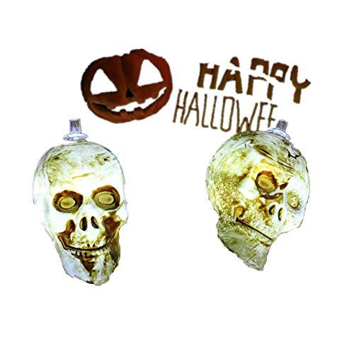 Los modelos de explosión de Halloween llevaron nuevos elementos de decoración de fantasmas de cadena de luces de neón son blancos 1.5 metros 10 luces