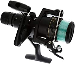small Shimano IX2000R Friction Spinning Freshwater Reel on Front
