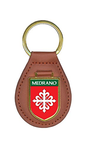 Medrano Family Crest Coat of Arms Key Chains