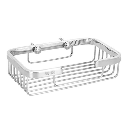 lyrlody Basket, 304 Stainless Steel Dish Holder for Washroom for Bathroom