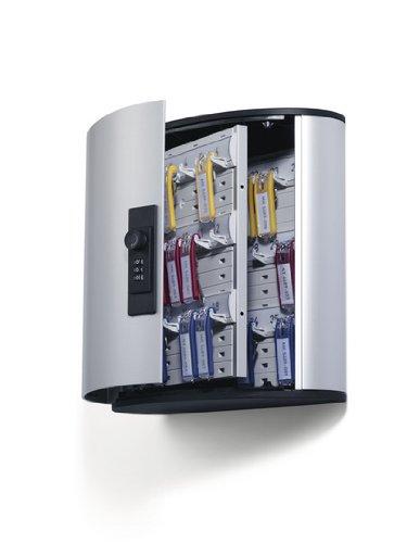 Durable Key Box 36Code Aluminium Silber Schrank Organizer