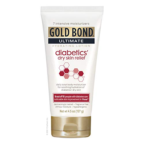 Gold Bond Ultimate Diabetics Dry Skin Relief, Fragrance Free, 4.5 Ounce
