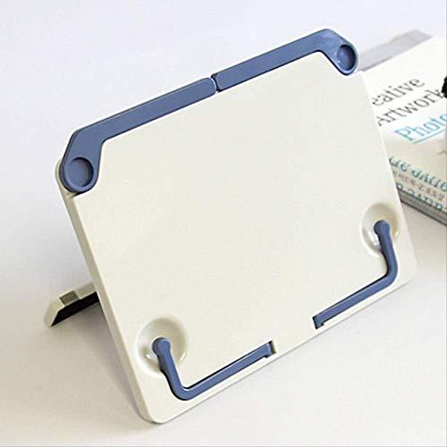 Boek Stand Draagbare Vouwen Lezen Boekenplank Muziek Stand Blauw Grijs Lezen Frame Lezen Frame Platte Beugel File Houder