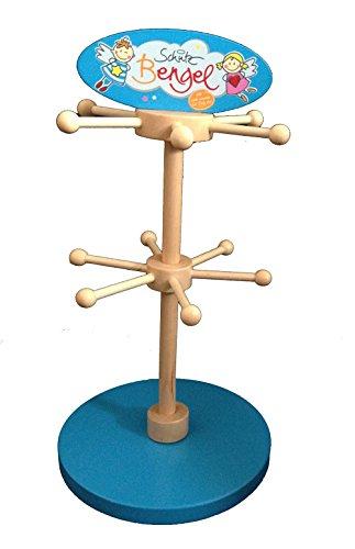 Holz Schmuckständer Schlüsselanhänger Uhren Ständer vielfach verwendbar für Anhänger Ketten, Kinderzimmer