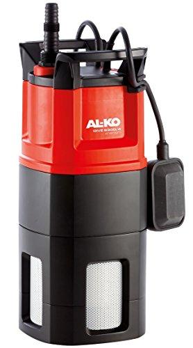 AL-KO Tauchdruckpumpen Dive 6300/4 (6.300 l/h max. Fördermenge, 40 m max. Förderhöhe, 4-stufiges Pumpenlaufwerk)
