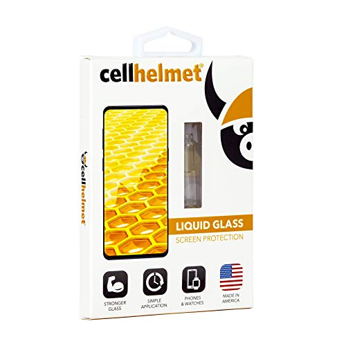 cellhelmet Liquid Glass Screen Protector | Universal for All iPhone, Galaxy...