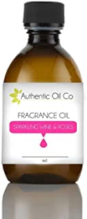 Sparkling wine & Roses fragrance oil concentrate 10ml for soap bath bombs and candles cosmetics.