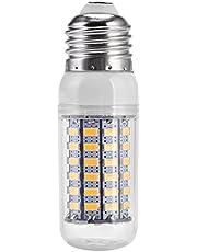 LED-lamp, Wilecolly E27 9W 69LED 5730SMD-gloeilamp Hoge helderheid Wit/Warm witte kleur Lamp Huishoudelijke accessoires(220v-Warm wit)