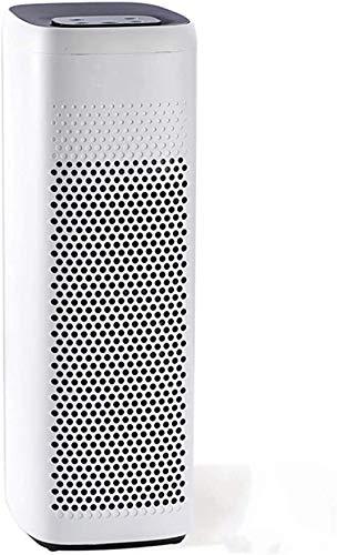 BABAAN Purificador De Aire Apto para Pelo De Mascotas Y Fumadores En Habitaciones Familiares. Filtro De 3 Etapas 22Db Desodorante Purificador De Aire Olor-Blanco