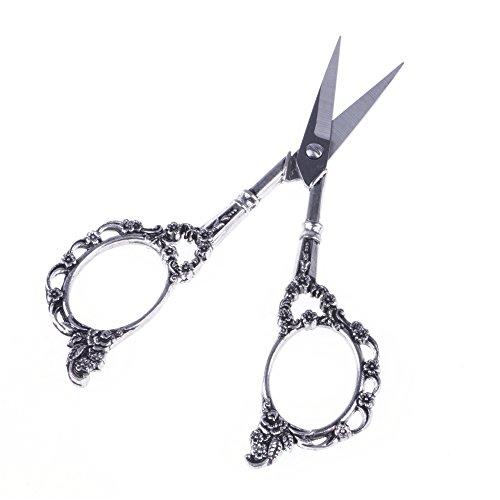 Acero inoxidable Plum Blossom recortador Scissor Cruz costura bordado Herramientas