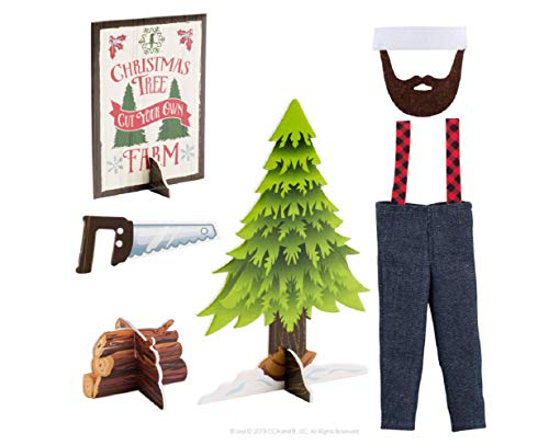 The Elf on the Shelf Exclusive 2019 Claus Couture Little Lumberjack Lad