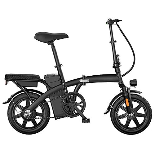 TGHY Bicicleta Eléctrica Plegable E-Bike Urbana de 14