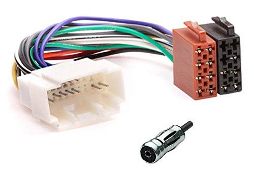 Câble Adaptateur Faisceau ISO connecteur autoradio pour Fiat Honda Nissan Opel Suzuki Auf ISO