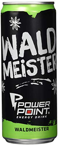 Power Point Energy Drink Waldmeister, 24er Pack, EINWEG (24 x 330 ml)