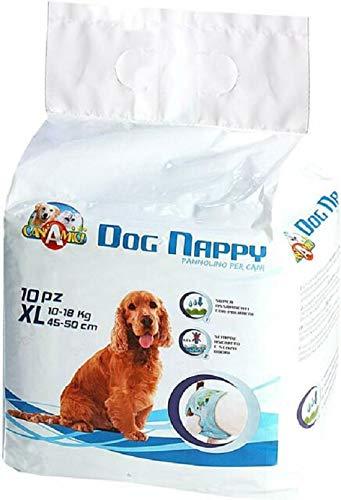 Croci Pañales para Perro Dog Nappy, Paquete de 10 Unidades 🔥