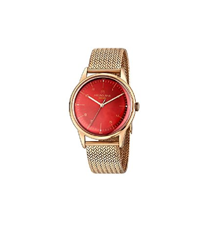Uhr Melbourne Mailänder Mesh-Armband vergoldet