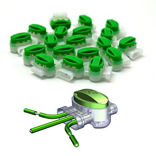 10x RASENFREUND Kabelverbinder Fettfüllung Einzeladerverbinder Verbindungsklemmen Anschlussklemmen Begrenzungskabel Mähroboter Kompatibel mit GARDENA/BOSCH/HUSQVARNA/WORX/HONDA/ROBOMOW/iMow