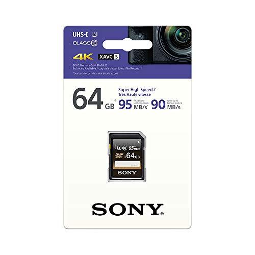 Sony SF-64UZ SD-Speicherkarte (64 GB, UHS-I)