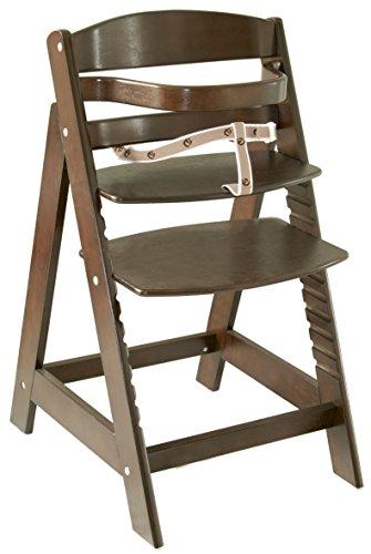 roba Treppenhochstuhl Sit Up III, mitwachsender Hochstuhl vom Babyhochstuhl bis zum Jugendstuhl, Holz, bicolor natur/weiß