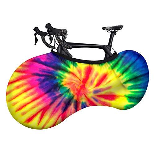 MHUI Bike del, Bicicletas de Interior de la Cubierta de Almacenamiento de Altas Prestaciones de Guardapolvos para el patrón de Bicicleta de montaña Bicicleta de Carretera-Colorido,B